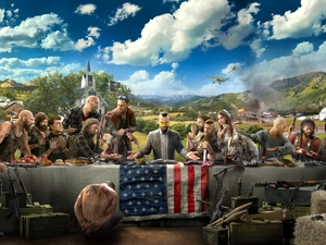 prisoner, Verdict, flag, Heroes, Far Cry 5