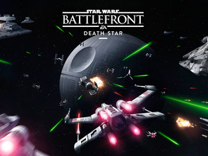 Planet, Space Ship, Star Wars Battlefront, poster, Death Star