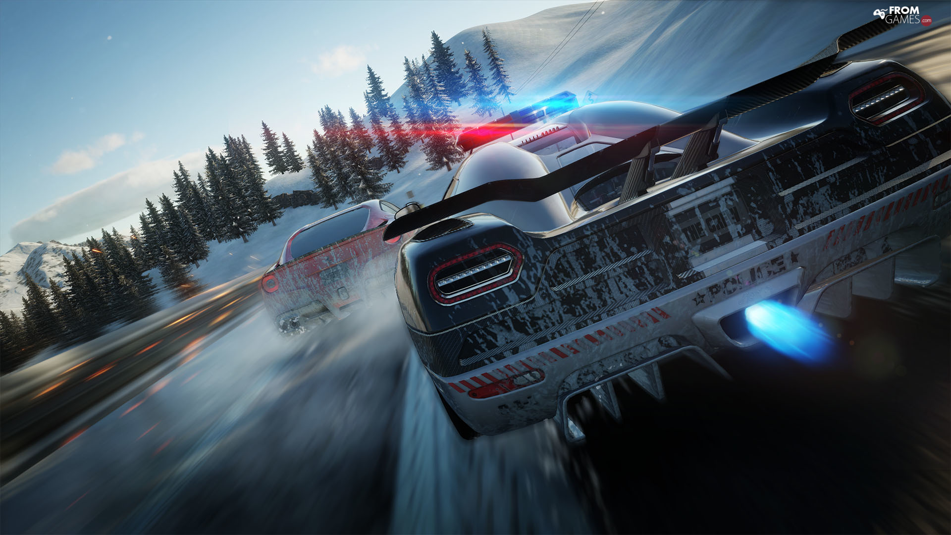 Police Car, game, The Crew