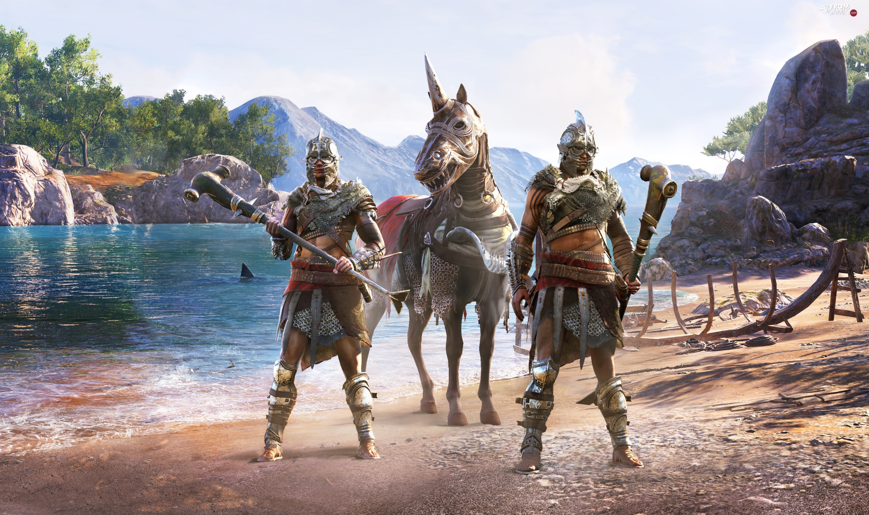 Characters, game, Assassins Creed Odyssey