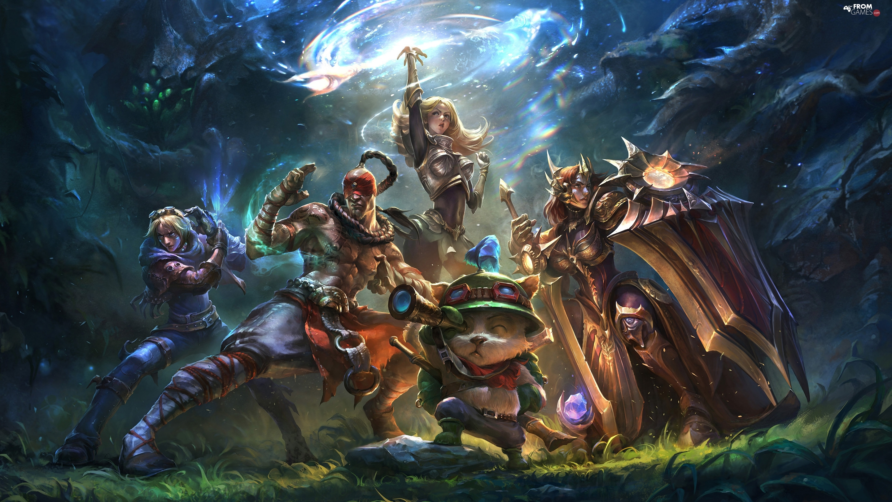 cat, magic, League Of Legends, Characters, game