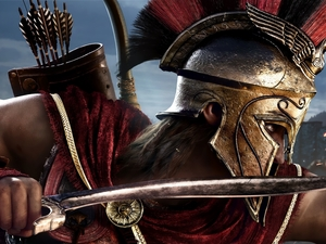 helmet, Assassins Creed Odyssey, Alexios