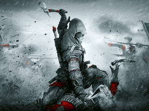 game, form, Connor, Assassins Creed III