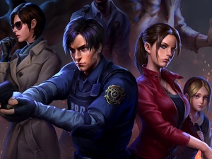 game, Characters, Weapons, Resident Evil