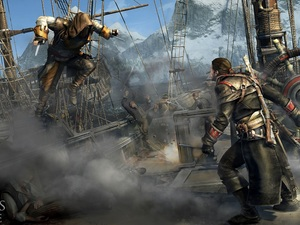 Ship, Fight, Assassins Creed Rogue, Characters, game