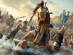 form, Kassandra, Assassins Creed Odyssey, Fight, game