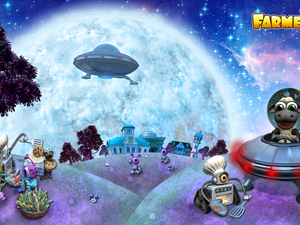 game, ufo, sheep, Farmerama