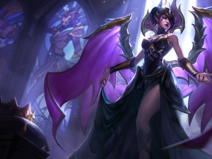 Morgana, Fallen Angel, League Of Legends, form, game