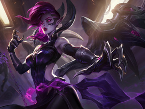 Fallen Angel, Morgana, League Of Legends, form, game