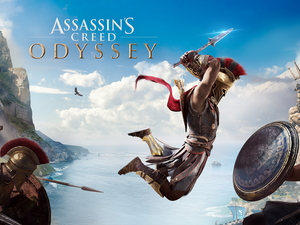 poster, Assassins Creed Odyssey, Alexios, game