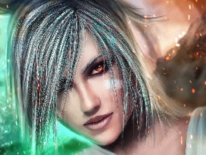 League Of Legends, warrior, Riven, Women