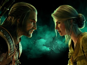 The Witcher 3 Wild Hunt, game, sorceress, Ciri, Geralt of Rivia, The Witcher 3 Wild Hunt