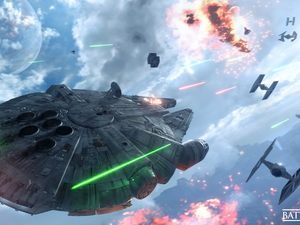 Space Ship, game, Star Wars Battlefront
