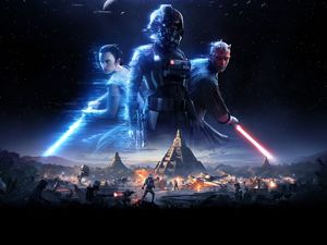 Characters, game, Star Wars: Battlefront II